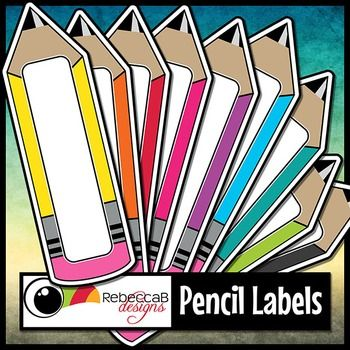 FREE Pencil Labels contains 19 large, brightly colored, pencil shaped labels, perfect for product covers, name tags, folders, shelves, posters etc. Import to your editing program, eg. PowerPoint and add text and/or clip art over the label.  Each pencil is approx 10x3 inches in size and can easily be increased or decreased in size.