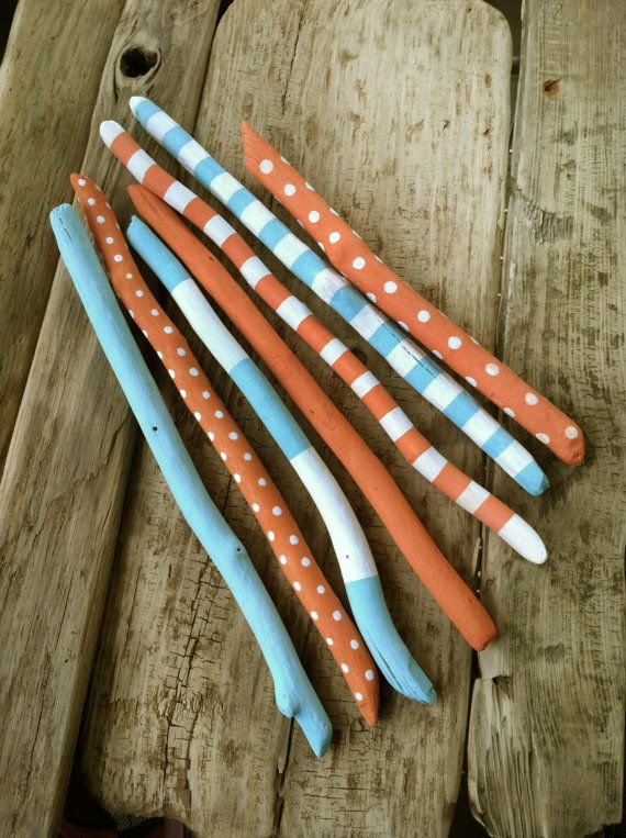 25 Unique Painted Sticks Ideas On Pinterest Stick Art Painted Branches And Walking Sticks