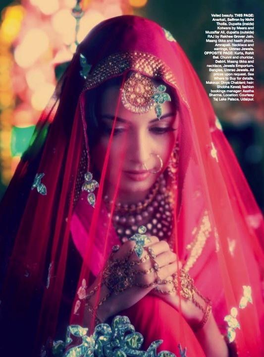 Pakeezah shoot by Bazaar india