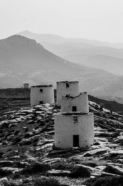 Stavros Tzovaras Photography  windmills at  Amorgos