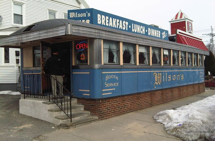 Both My Parents Worked Here Wilson S Diner Main