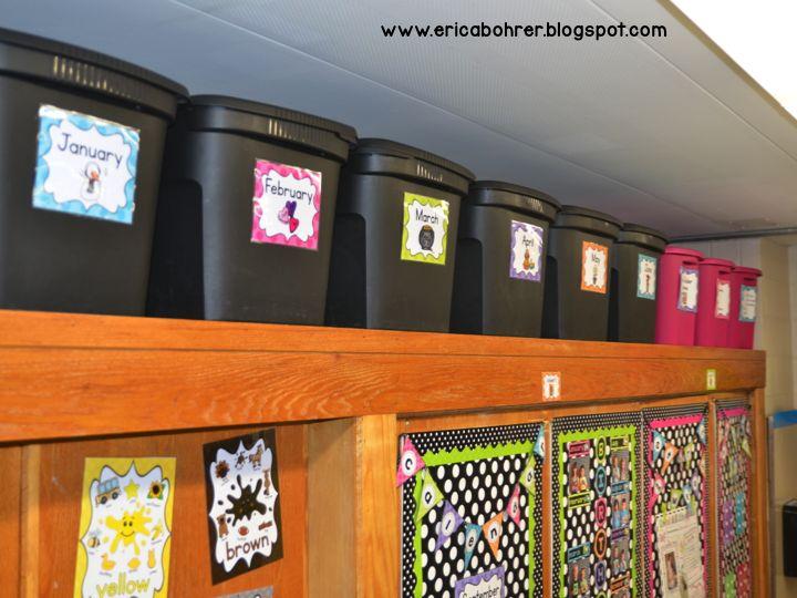Classroom Decor Black And White : Erica s ed ventures black white polka dot plus brights