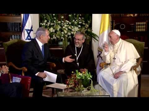 Netanyahu and Pope Francis Discuss Whether Jesus Spoke Hebrew - Netanyahu and Pope Francis Discuss Whether Jesus Spoke Hebrew - interesting last couple of paragraphs on history of Jewish-Catholic debates - http://www.tabletmag.com/scroll/174120/the-netanyahu-pope-francis-spat-over-jesus-that-wasnt