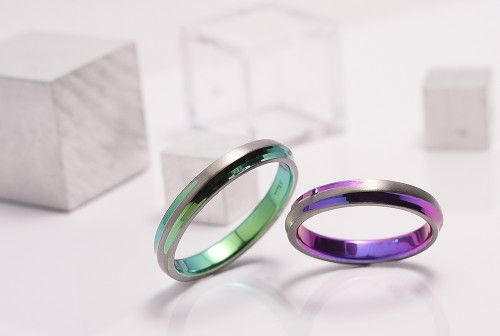【結婚指輪|十日夜】S様ご夫婦がお創りされた結婚指輪。 詳しくは、館林工房スタッフブログ「チタンマリッジリング♡」でご紹介しています。