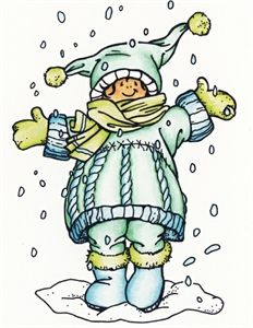 Picture of Marianne Design Stamp I Love Snow