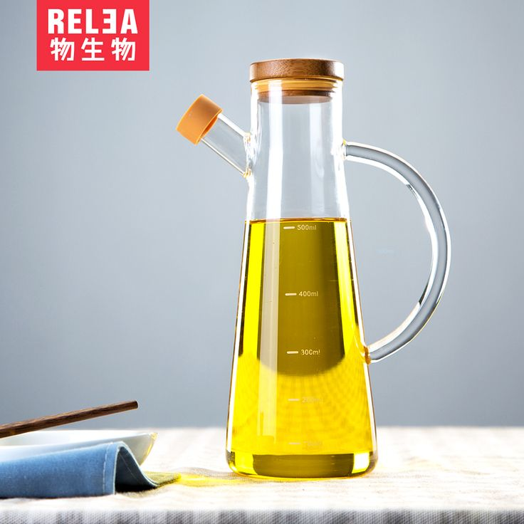 Biological Material Leakproof Glass Oiler Oiler Oil Control Healthy Sesame  Oil And Vinegar Bottles Kitchen Supplies
