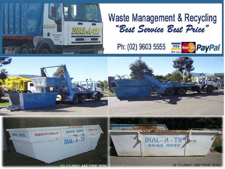 Dial A Tip has made its mark among the waste industries by offering exceptional waste management and recycling service through rubbish removal Sydney. We have rubbish bin hire of various sizes like 2, 3, 4, 10 and 20 at economical price. Approach us for steady rubbish removal services.