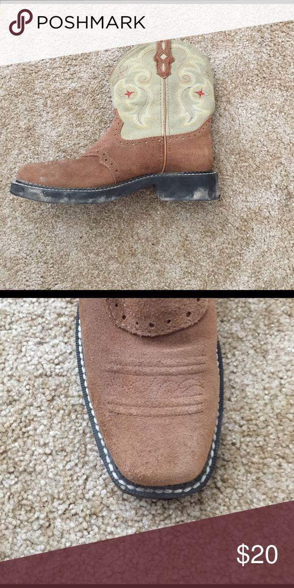 Justin square toe boots Justin square toe boots Justin Boots Shoes Combat & Moto Boots
