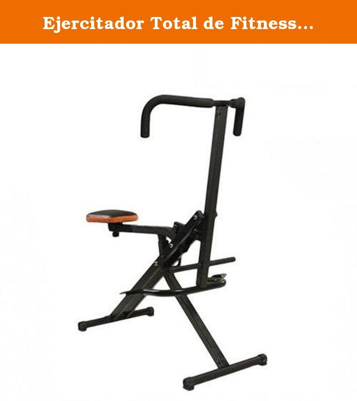 Ejercitador Total de Fitness Abdo Crunch. This fitness exerciser is extremely versatile so you can combine at least four different exercises depending on your preferences: Leg press, back squat, abdominal squat and cardiovascular aerobic exercise. The Abdo Crunch allows you to increase your muscle mass and most importantly, stay fit. In addition, it is foldable so you can store it anywhere.