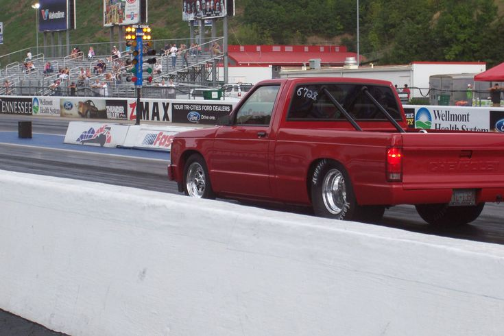 1991 Chevrolet S10 Pickup I love the way it stands!