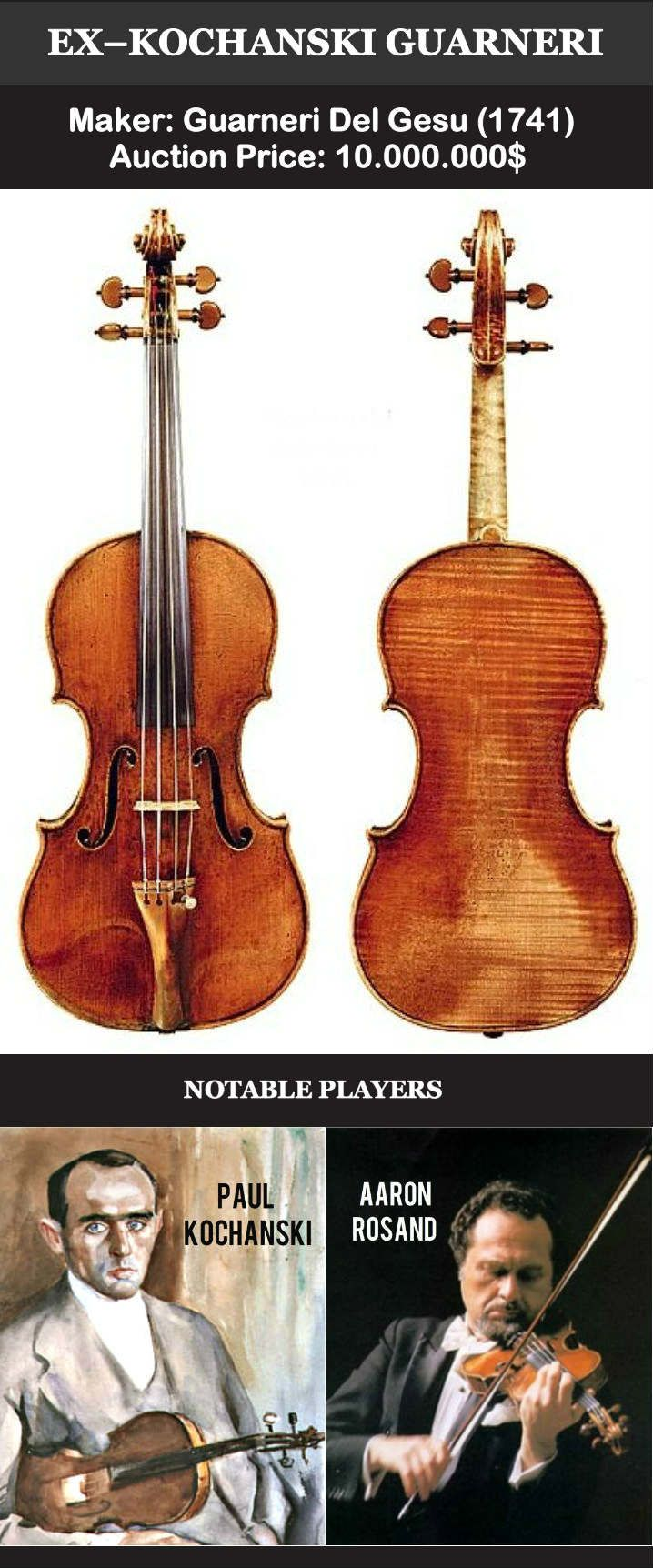 These Are The 12 Most Expensive Violins Of All Time Most