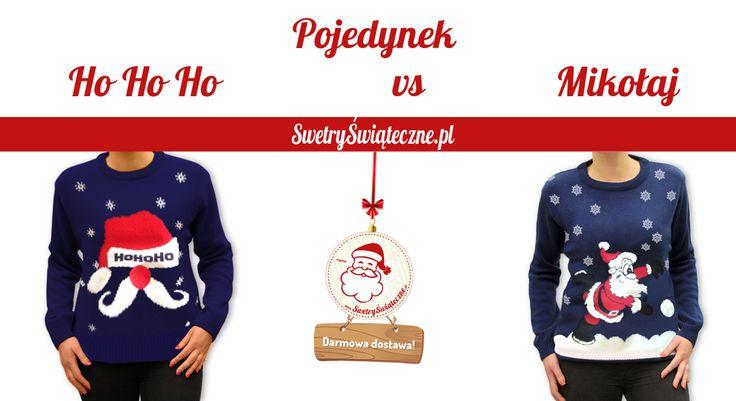 Czerwono nosy świątecznie pokrzykujący HoHoHo Mikołaj nr 1 i ciągle uśmiechnięty, pełen świątecznego nastroju Mikołaj numer 2. Napiszcie w komentarzach który podoba Wam się bardziej. Ciekawe który wygra?