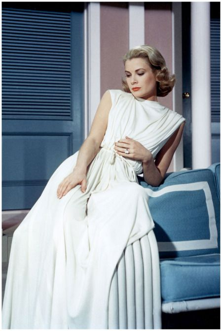 Grace Kelly, a loyal guest at Hotel Bel-Air, in a still from High Society (1956).