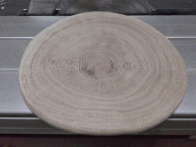 Baumscheibe/ Eiche Pizzateller oder Vesperplatte