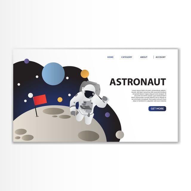 الفضاء الهبوط على قوالب رواد الفضاء Astronaut Space Suit Clip Art