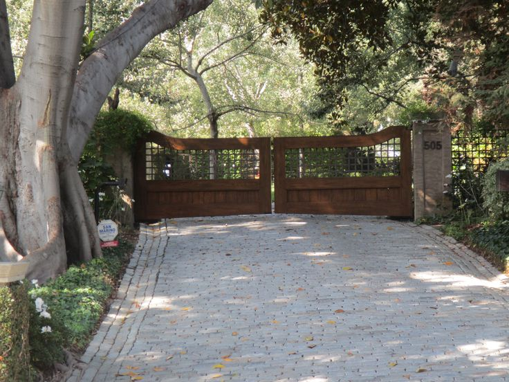 Best Ideas About Driveway Entry Gates Entrance Driveways