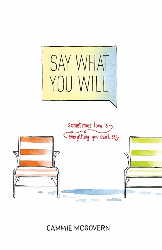 OCD - Say What You Will by Cammie McGovern