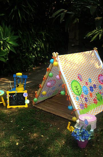 cabanas;teepee;barraca;tenda;festa do pijama