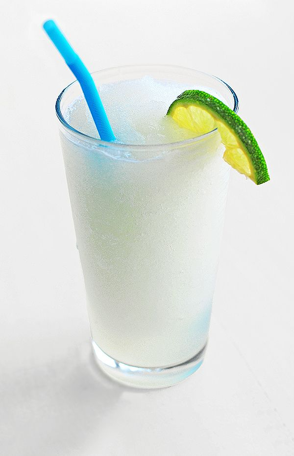 Frozen Coconut Limeade. Trying this when the weather gets warmer! #cocktail #coconut #limeade
