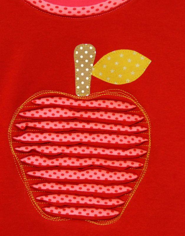Un appliqué pomme