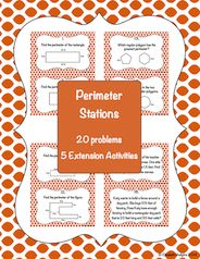 Perimeter review, 20 questions and 5 anchor activities