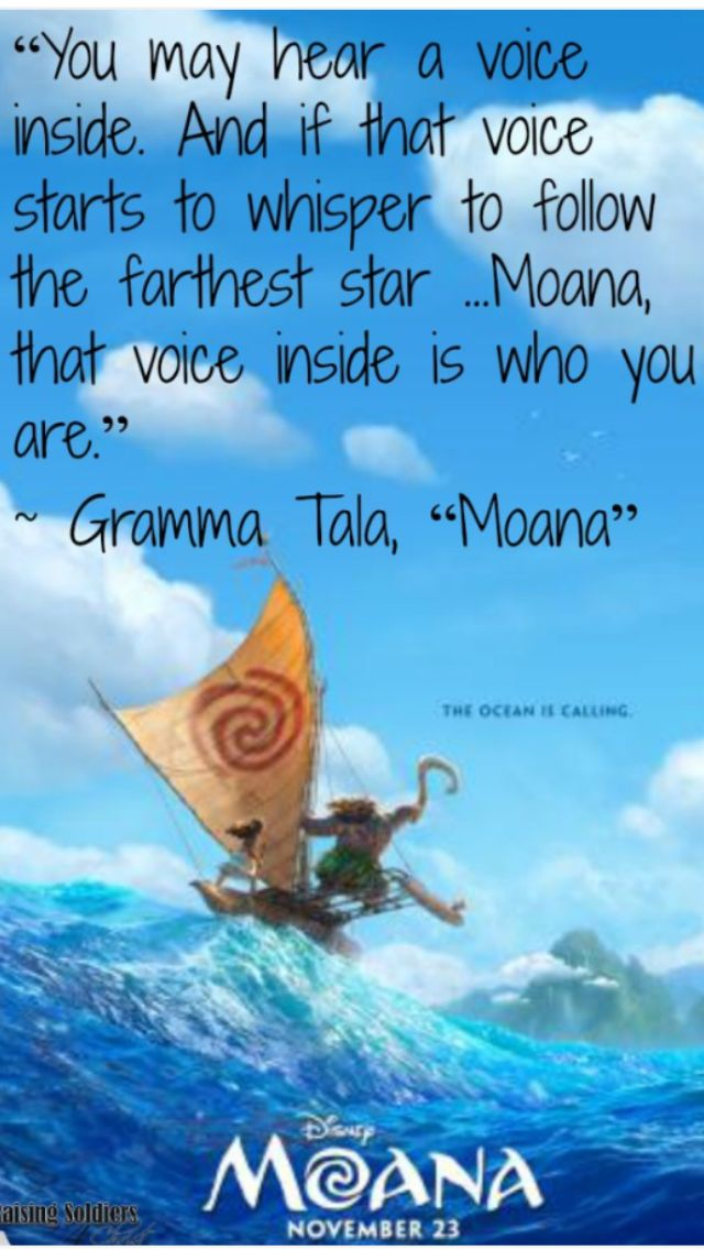 Do you know who you are? Listen to that voice!
