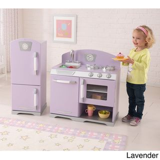 KidKraft Retro Kitchen and Refrigerator | Overstock.com Shopping - Big Discounts on KidKraft Kitchens & Play Food