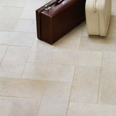 our Cathedral stone floors by Fired Earth