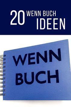 20 Wenn Buch Ideen