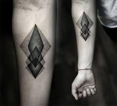 mens geometric tattoos - Google Search