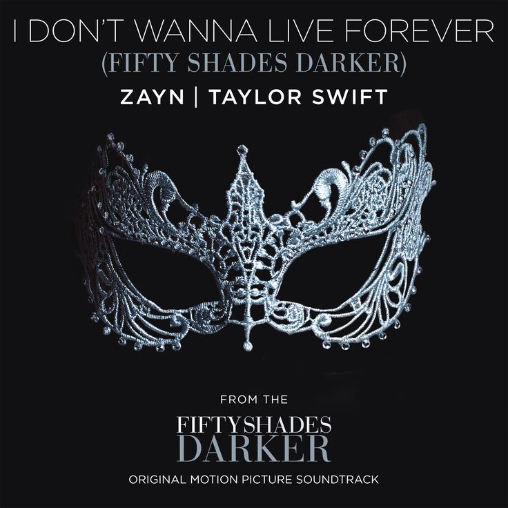 I Don't Wanna Live Forever (Fifty Shades Darker) [with Taylor Swift]