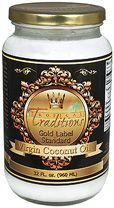 Tropical Traditions Gold Label Extra Virgin Coconut Oil