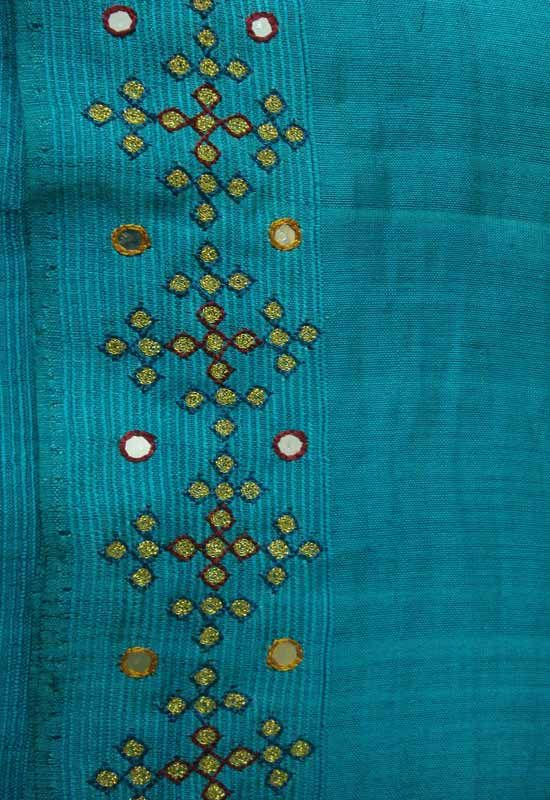 simple hand works on sarees - Google Search
