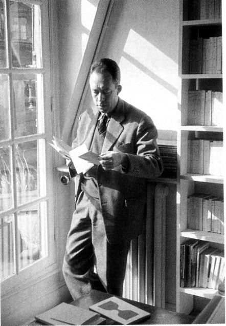"AlbertCamus: ""A novel is never anything, but a philosophy put into images."""