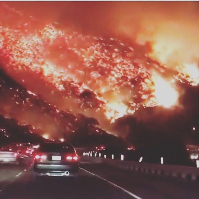 This is a video of the highway I drove on in October to get from LA to San Diego. Cant believe how crazy this is. Hope everyone is safe