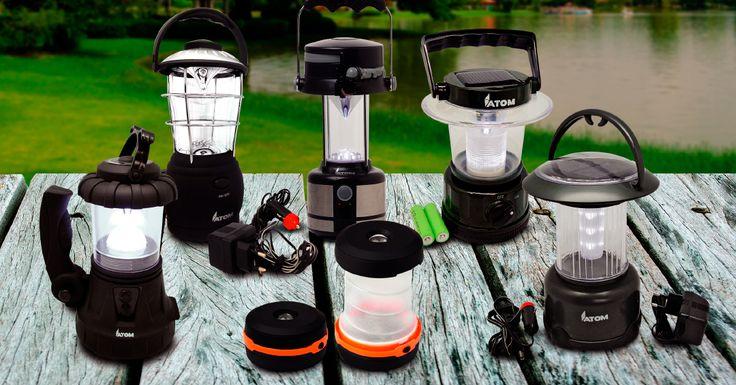 En tus vacaciones estarás siempre listo con estas lámparas y linternas. #easytienda #Vacaciones #Easy