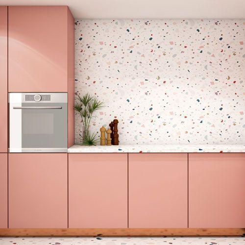 Carrelage En Terrazzo 5 Idees Deco Dans La Cuisine Salle De Bains Meuble Cuisine Terrazzo Et Idee Deco Cuisine