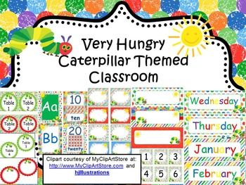 Start the year off with a colorful and bright classroom, with you favorite caterpillar inspired classroom.  My entire collection includes everything you need to help you start the new year or change what you have at this time or add to it.  I know your students will enjoy watching your entire classroom come to life with one of their favorite characters.