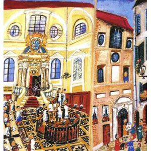 Bar Mitzvah in Siena
