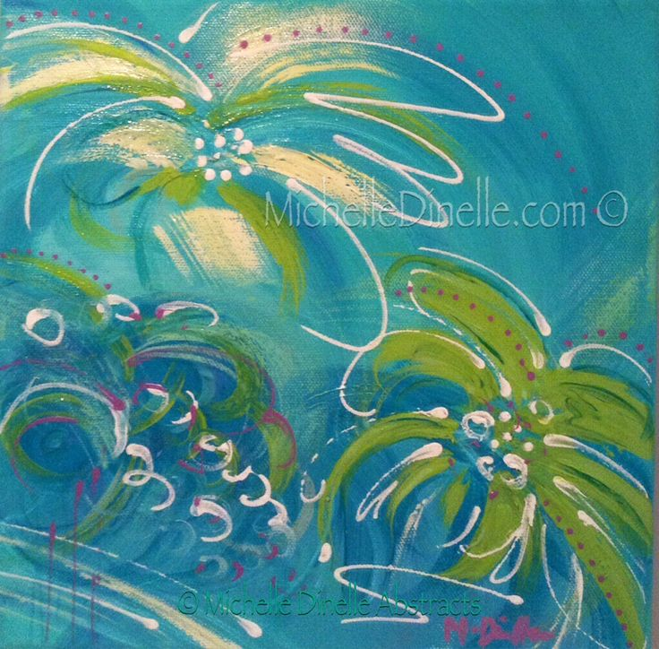 """'FIJI FANTASY II' - Original Art for Sale ©Michelle Dinelle 