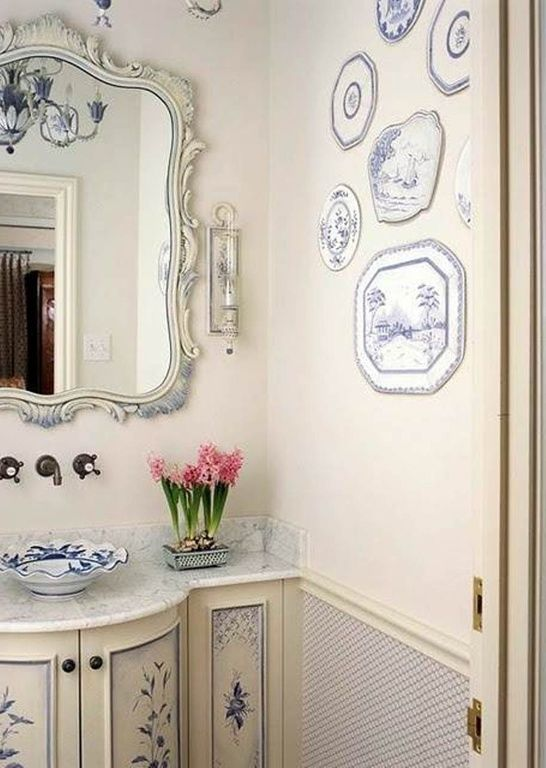 Painting Bathroom Tiles Better Homes And Gardens 35 best half bath ideas images on pinterest | bathroom ideas, home