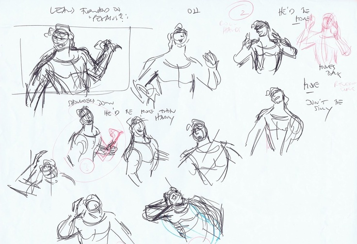 Hercules animation sketches