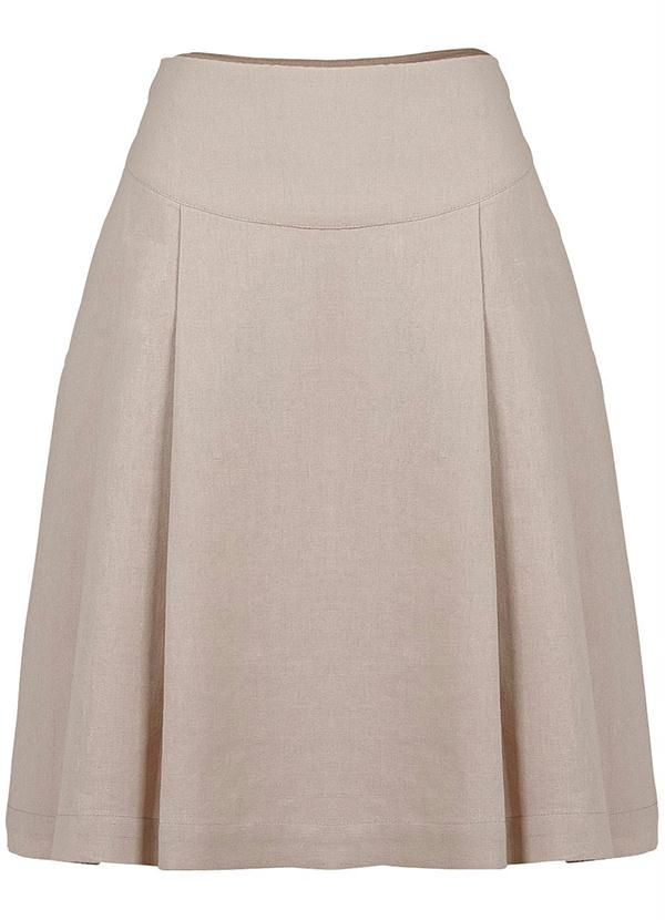 Its a beautiful long circular beige mexican cotton skirt