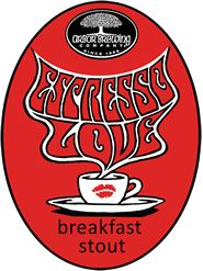 Espresso Love Breakfast Stout - Arbor Brewing Company Oatmeal and 20 pounds of fresh roasted coffee from the Ugly Mug Café contribute to a mildly chalky espresso character balanced by a rich, sweet creamy maltiness. Coffee finish dissolves into chocolate with a slight roasty bitterness.