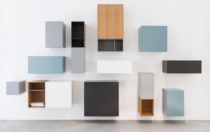 Speelse compositie van Vision & vision boxes by Pastoe | Master Meubel, design meubelen en interieur inrichting