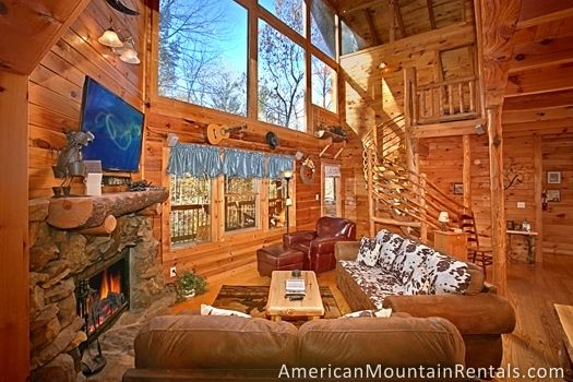 American Mountain Rentals - Located in the heart of the Great Smoky Mountains, guests will find our cabins in Gatlinburg, Pigeon Forge and Sevierville.