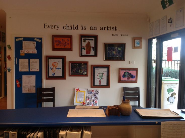Foyer Office Quote : Best daycare lobby ideas images on pinterest