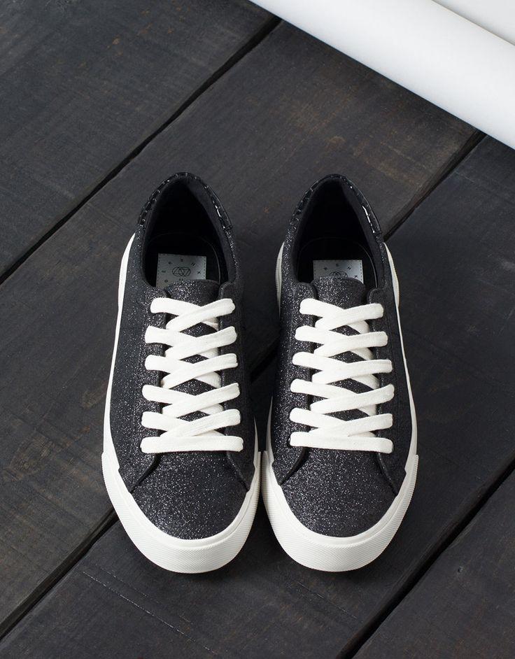Bamba Brillos BSK - Zapatos - Bershka España
