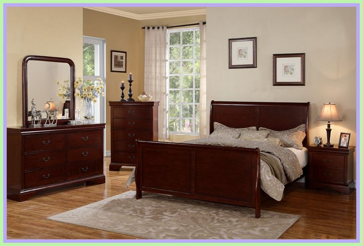 68 reference of Flooring Bed ideas cherry in 2020   Queen ... on Bedroom Reference  id=33354