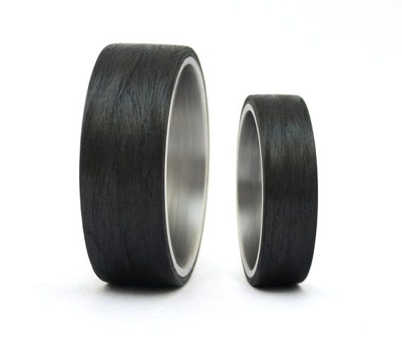 our wedding bands they will be arriving here soon carbon fiber